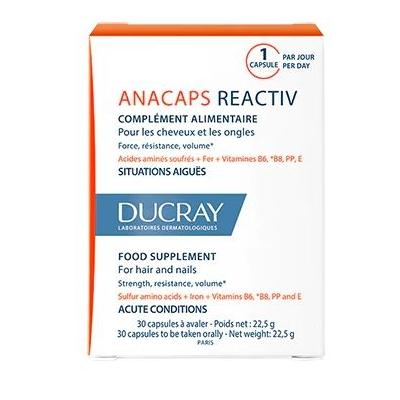 Ducray Anacaps Reactiv 3x30...