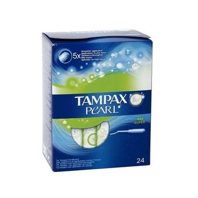 Tampax Pearl tampón super...