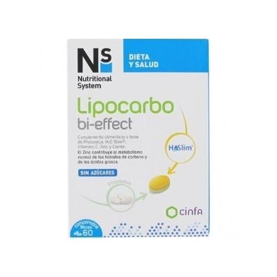 Ns Lipocarbo Bi-Effect 60 Comp